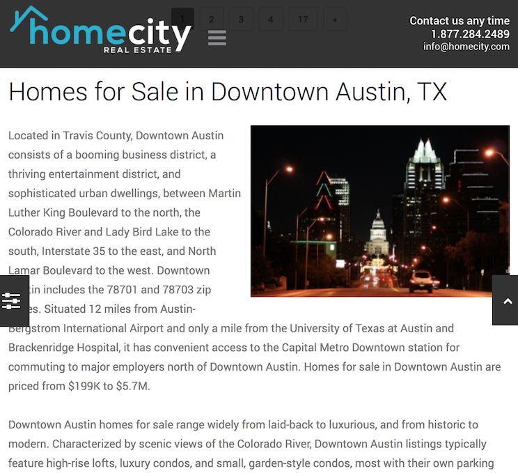 Image: Homecity Downtown Austin, Texas