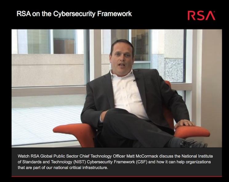 RSA Cybersecurity Framework - Marinela Miclea